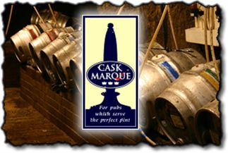 We are proud to have been awarded the cask marque. A sign of the perfect pint