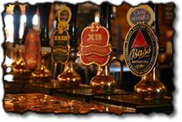 We serve a wide range of real ales.