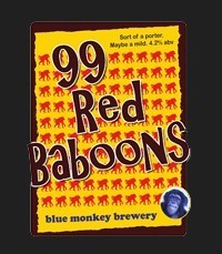 Blue Monkey - 99 Red Baboons