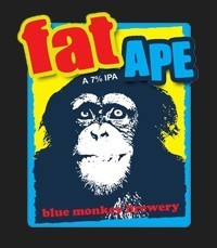 Blue monkey - Fat Ape