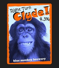 Blue Monkey - Right Turn Clyde